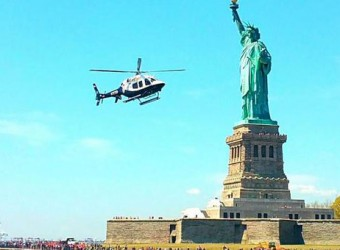 On Chopper Patrol With A New Addition To The NYPD's Crime Fighting Arsenal